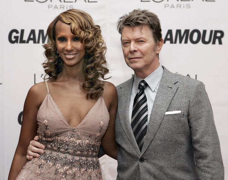 1. When Iman & Bowie Met, It Was Love at First Sight for Bowie