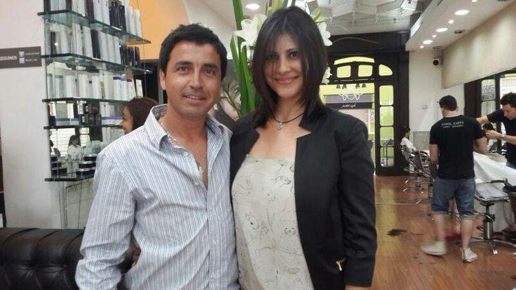Lorena Pérez de #BlocDeModa se hizo un cambio de look en Cool Cuts con Alvaro. Gracias Lorena por visitar nuestro saló