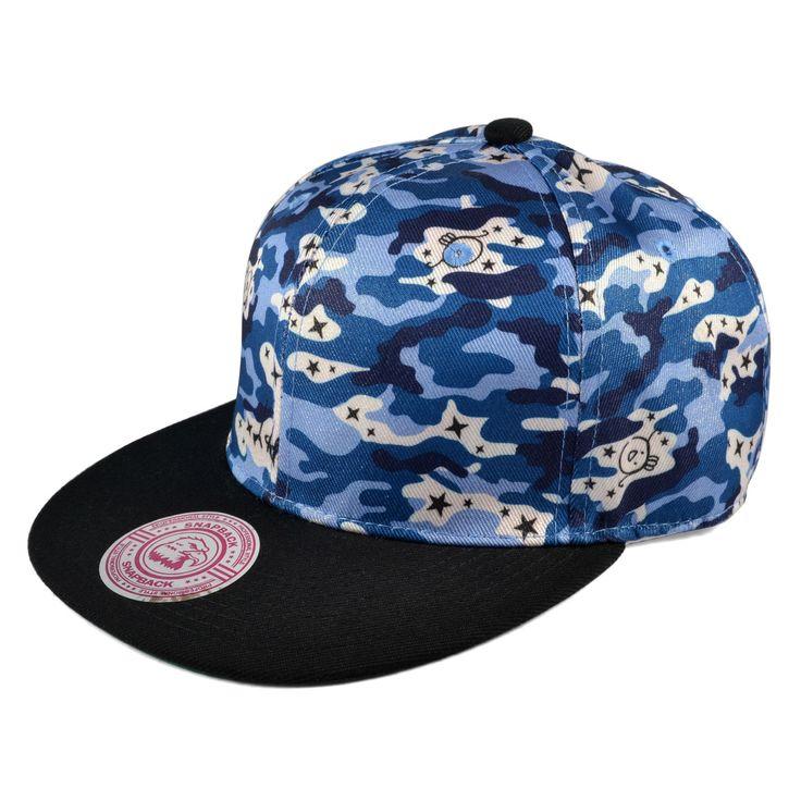 Blueside Snapback Cap - 199,00kr