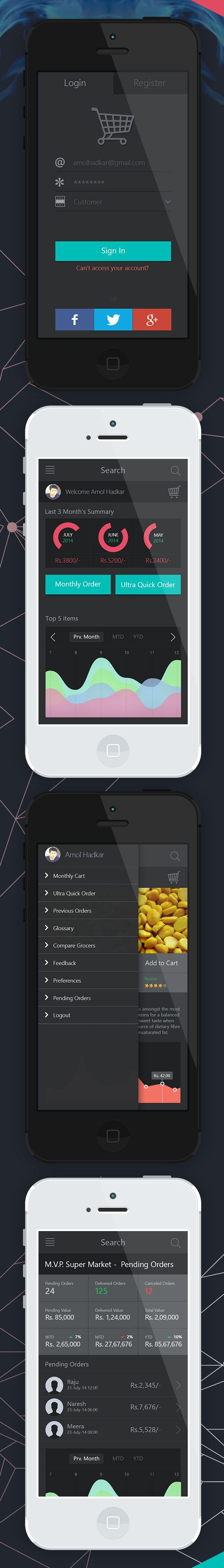 35 Modern Mobile App UI Designs with Amazing User Experience #ui #mobile #app