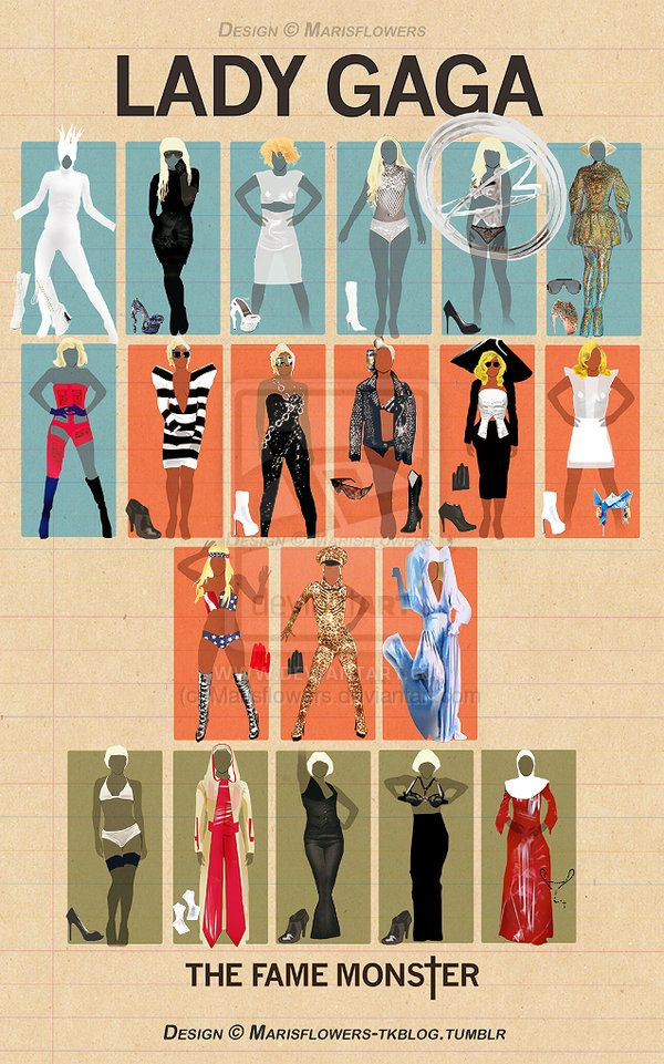 Lady Gaga Outfits
