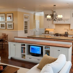 kitchen island with tv 25 best ideas about tv in kitchen on small 5231
