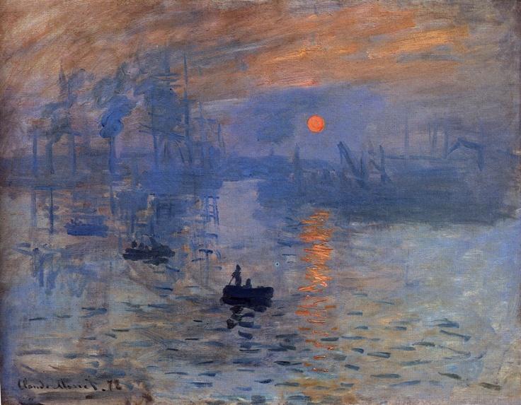 Monet - Impression Sunrise | Art-istic | Pinterest
