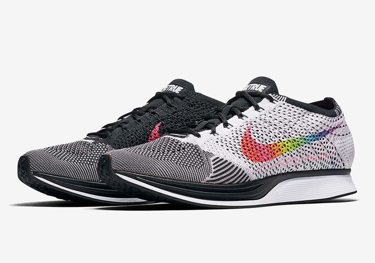 """Nike continues its celebration and support of the LBGTQ communitywith its annual capsule of footwear and apparel designed to raise awareness for the group's fight for equal rights. The Flyknit Racer """"Be True"""" indulges itself in a rainbow gradient Flyknit … Continue reading →"""