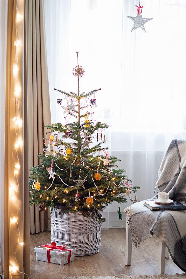 choinka inspiracje / minimalistyczna choinka / rustykalna choinka / christmas tree