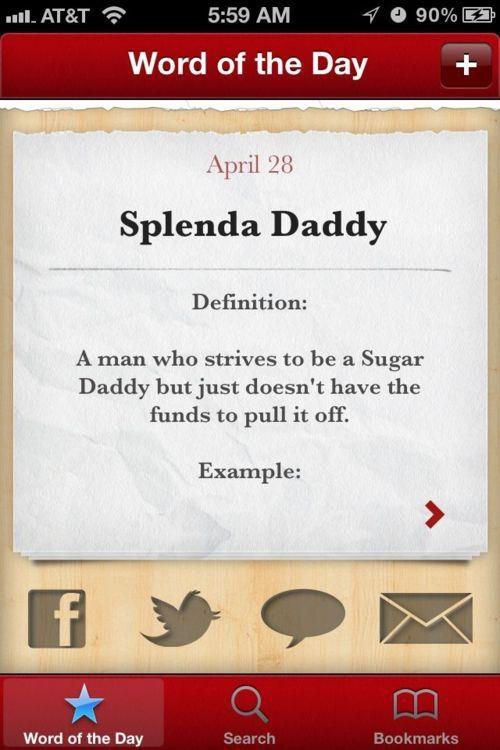 17 best images about sugar humor on pinterest older man for Sugar daddy jokes
