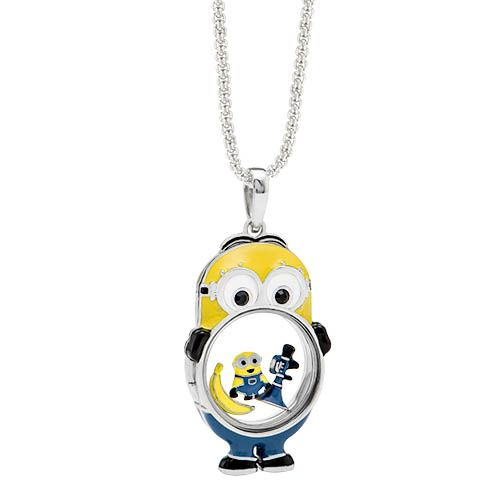An Origami Owl Minions locket???? Yup, your eyes are not deceiving you!  This Despicable Me 3 inspired locket is available now.