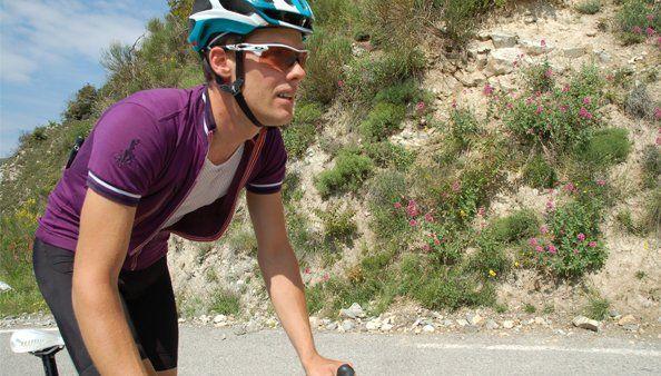 Violette Jersey Vin - Merino wool cycling jersey