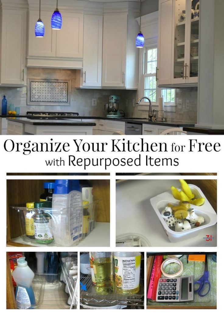 10 Ideas For Organizing Your Kitchen With Recycled Materials