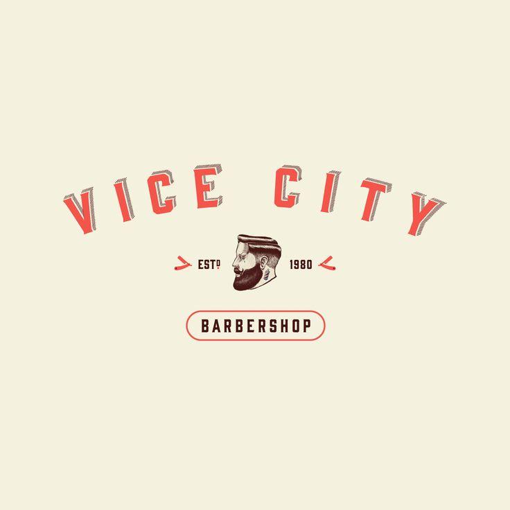 Barbershop logo #logo #brand #branding #design #designer #typography #love #fresh #sharp #cool #awesome #amazing #pompadour #tattoos #barber #slick #pomade #cut