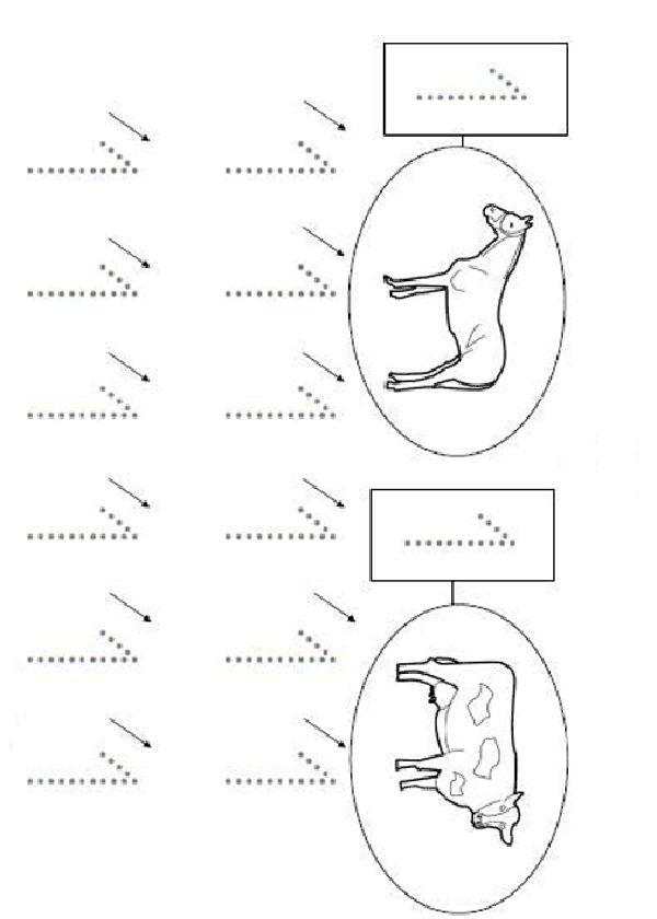 Activités imprimables L'écriture des numéros 8