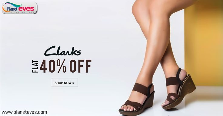Get Upto 40% OFF !! #Clarks #Women's #Sandals Online in India at Planeteves.com. Find Wide Range of #Stylish #Footwear for Women Available with Free Home Delivery.