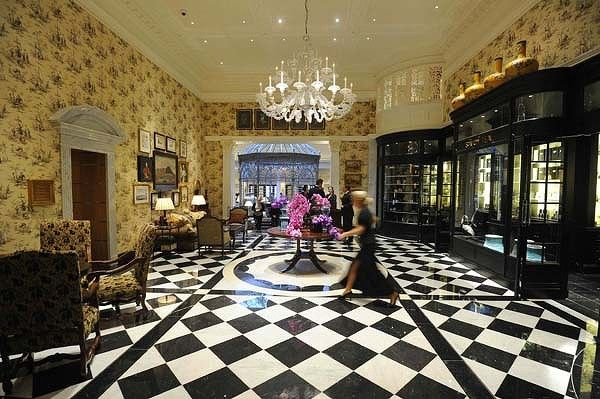 I want to visit - just for a bit; CONCEPT INTERIORS: The Savoy Hotel London, absolutely breathtaking