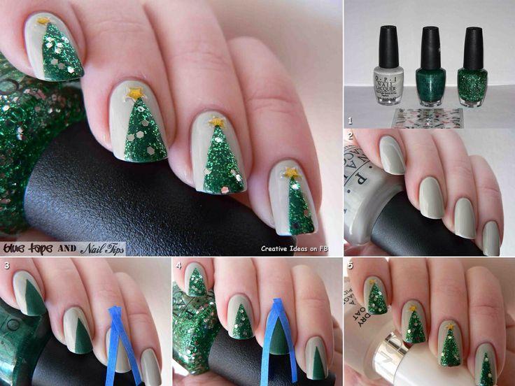 Negle juletræ