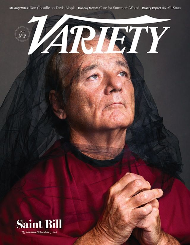 Bill Murray saint for Variety, October 2014