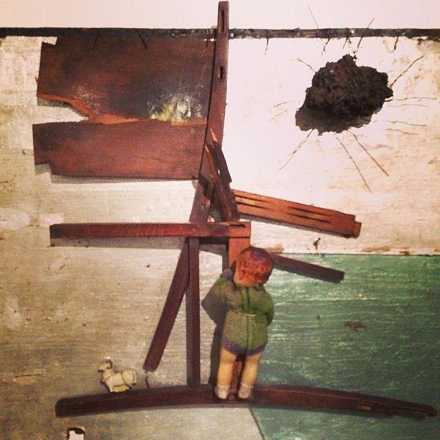 Ballada #hasior #surrealizm #contemporaryart pre #popart