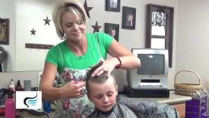 how to cut baby boy hair mohawk