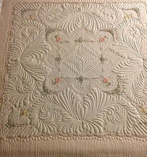 Beautiful quilting by Ingrid Whitcher