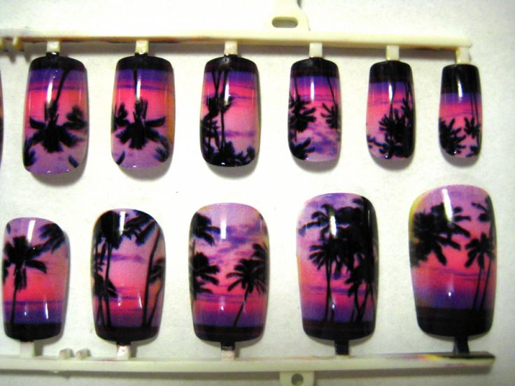 143 best nail designs images on pinterest palm trees beach caribbean nail designs caribbean nail design press on nail by lynnsboutique on zibbet prinsesfo Image collections