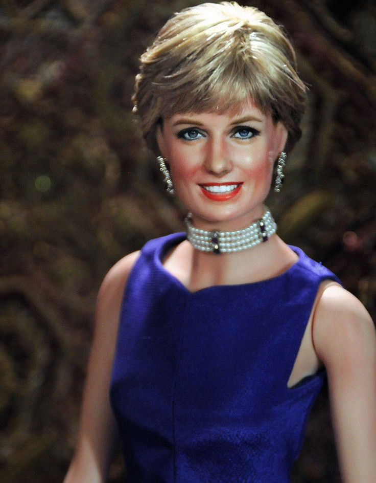 OOAK Franklin Mint Princess Diana tribute doll repaint -  by Noel Cruz | Dolls & Bears, Dolls, By Type | eBay!