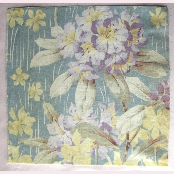 Vintage fabric JY17 | Rag Rescue's vintage fabrics