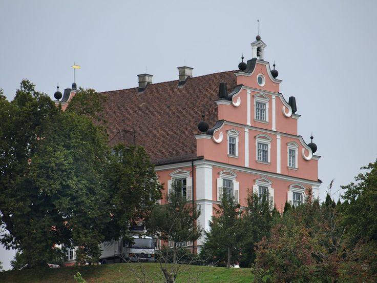 Das Schloss Freudental liegt auf der Bodenseehalbinsel Bodanrück zwischen dem Überlinger See und dem Gnadensee. Auf einer Anhöhe erbaut, überragt es das Dorf Freudental (heute zusammen mit Langenrain ein Ortsteil von Allensbach) und ist weit in der umgebenden Landschaft zu sehen. Baumeister war der aus Neresheim stammende Michael Wiedenmann (1661–1703), der am Bau der Abtei Neresheim mitwirkte.