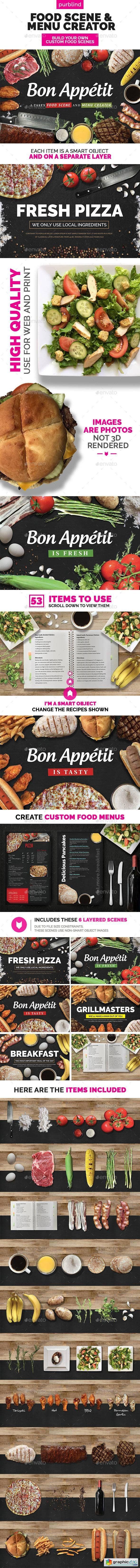 Food Scene Menu Creator (Bon Appetit)