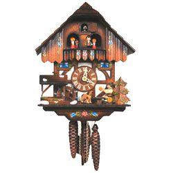Cuckoo clock repair.
