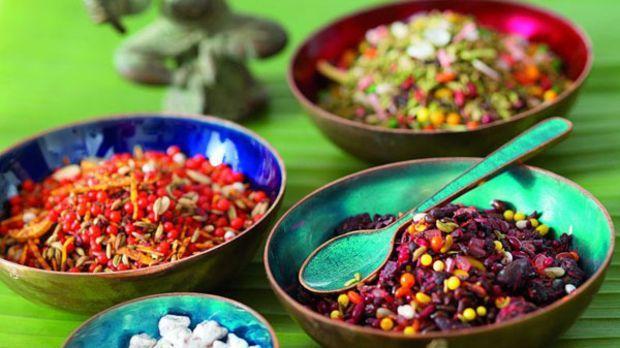 Die äthiopische Würzmischung passt bestens zu gebratenem oder gegrillten Fleisch.