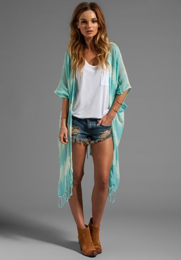TIARE HAWAII Shipwrecks in Teal Tie Dye at Revolve Clothing - Free Shipping!