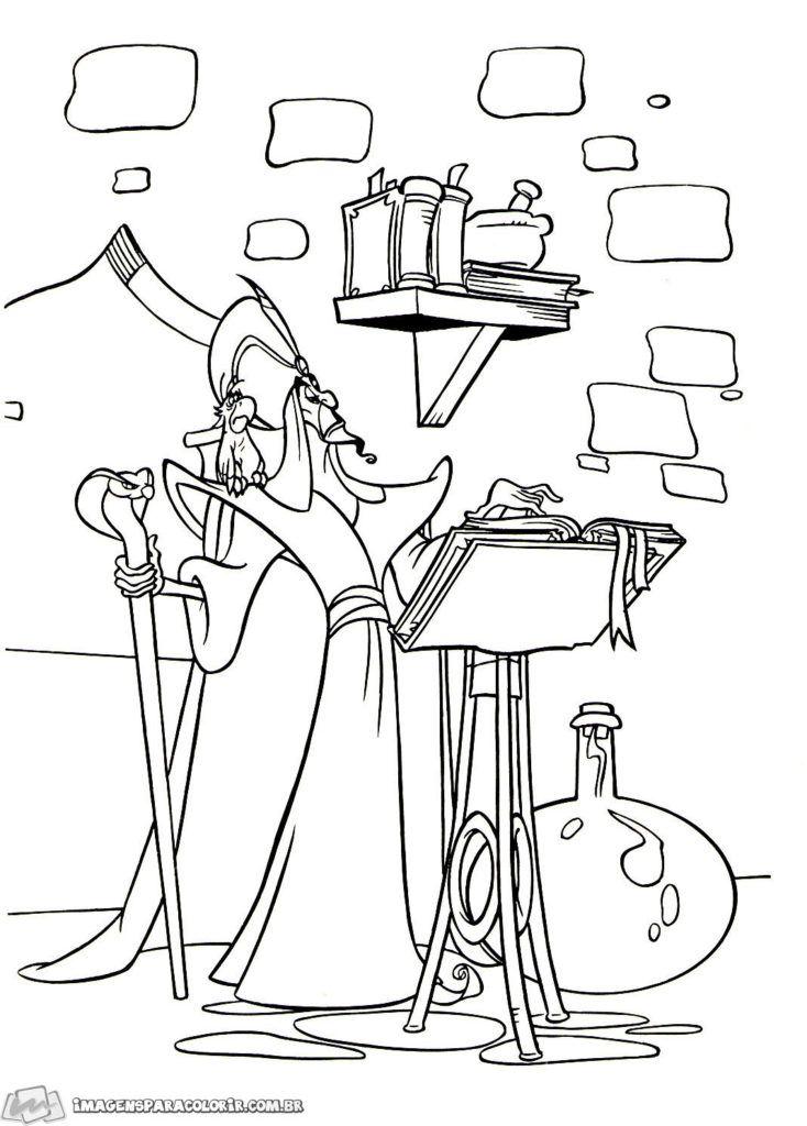 Aladdin Imagens Para Colorir Pinturas Da Disney Aladdin
