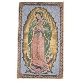 TOILE MEXICAINE : VIERGE DE GUADALUPE