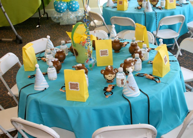 1000 Ideas About Monkey Party Decorations On Pinterest