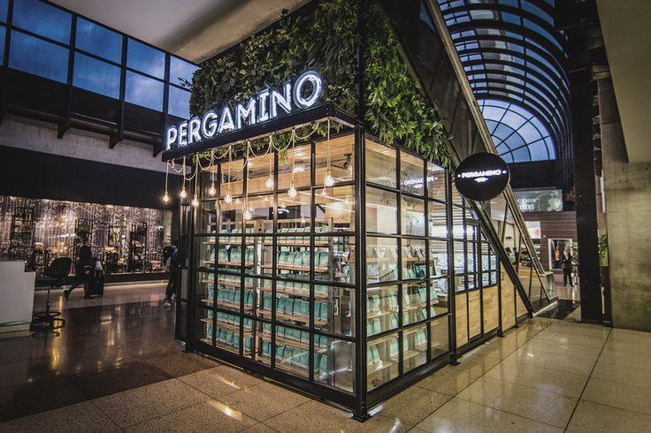 Pergamino. on Behance #Design #Lamps #lightingdesign #Coffee #airport #Medellin #Colombia