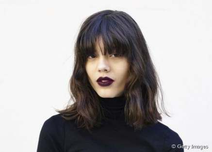 66 Trendy hairstyles long bangs lob haircut