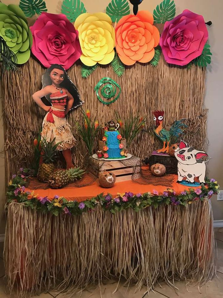 Moana Birthday Party Ideas | Photo 1 of 9