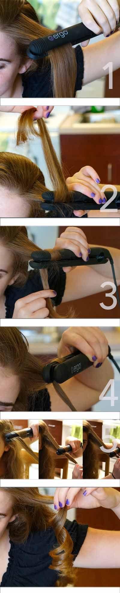 Naučíme ťa, ako urobiť vlny so žehličkou na vlasy! • Akadémia Krásy