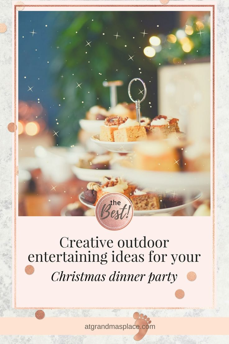 An outdoors Christmas, either at the beach or in your own backyard, is one of those Australian iconic activities, along with a good spray of Aerogard before a hotly contested game of backyard cricket.. and don't forget to dodge the old Hills hoist. But how about a few creative ideas for your outdoor Christmas entertaining this year? Just a few simple suggestions will add new sparkle to your festive activities. atgrandmasplace.com
