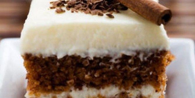 Cake with Cinnamon