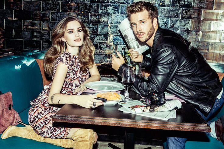 A modelo Renata Sozzi e o ator Miguel Thiré posam de namorados por um dia e exibem produções de arrancar suspiros em lugares inspiradores - enredo perfeito para o romance ideal. http://abr.io/J2fp