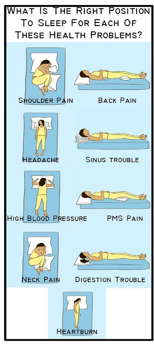 The Suitable Sleeping Position For 9 Different Health Problems Health And Fitness Articles Health Facts Health Info