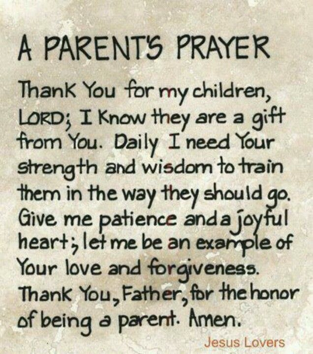 Your children are NEVER to old to pray this prayer for them!