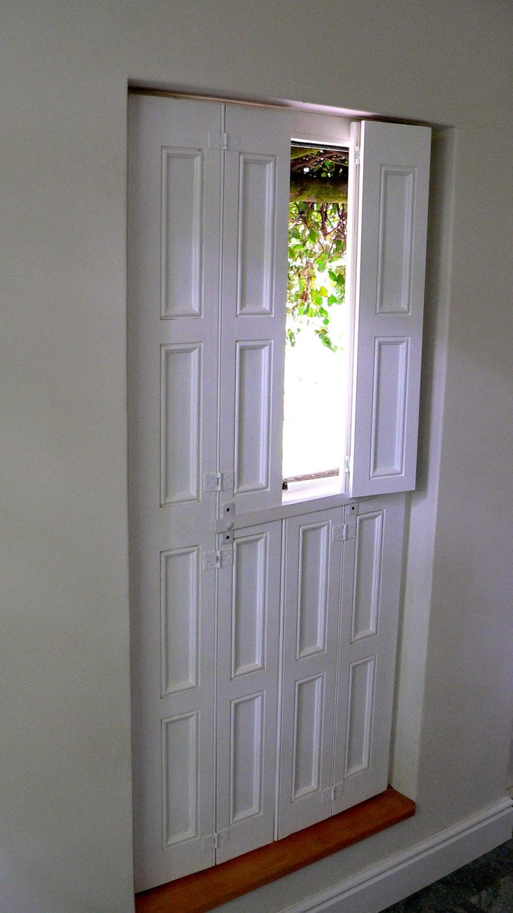 Victorian shutters   Ibis Gallery