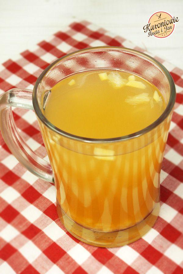 Kuchnia Kuronia : napój imbirowy na przeziębienie