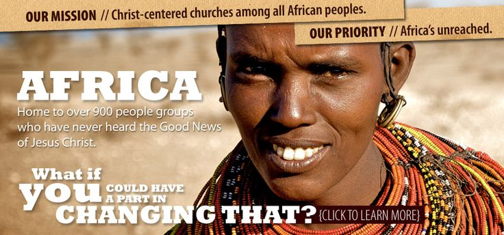 Africa Inland Mission works to create Christ-centered churches that reach all the peoples of Africa (we specifically supported a ministry that gives aid to autistic children in Uganda)