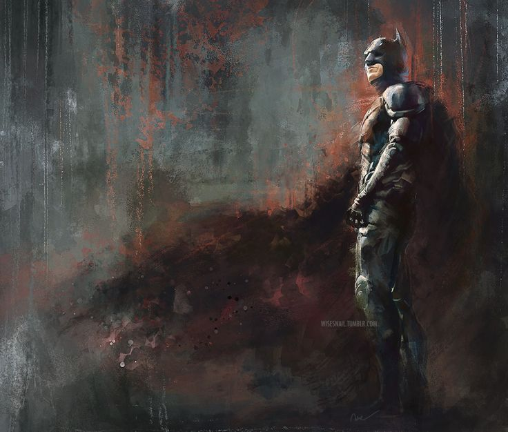 The Dark Knight by wisesnail