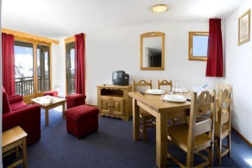 Vacances en montagne Appartement 2 pièces 4 personnes - Residence L'ecrin Des Neiges - Vars - Coin repas