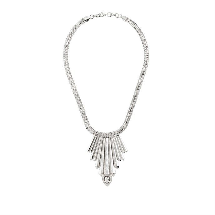 Elysian Magnetic Rhythm Necklace - Silver