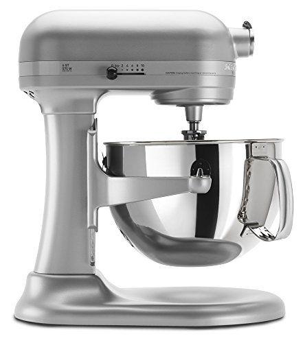 KitchenAid KP26M1XNP5 Professional 600 Series 6-Quart Stand Mixer, Nickel Pearl KitchenAid http://www.amazon.com/dp/B0002Y5X9W/ref=cm_sw_r_pi_dp_5fKJub1WRF652