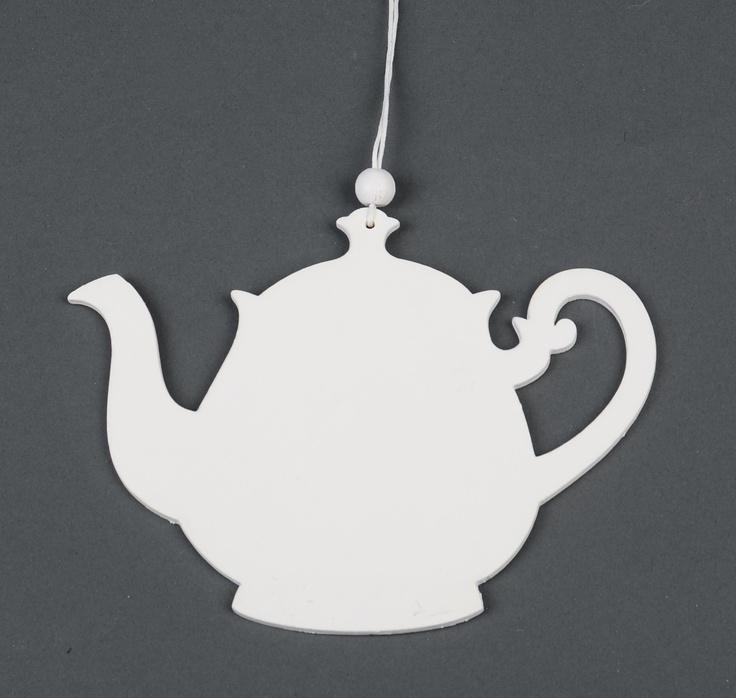 Houten theepot ~ wooden tea can